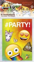 Emoji Rainbow Fun Invitations (8)